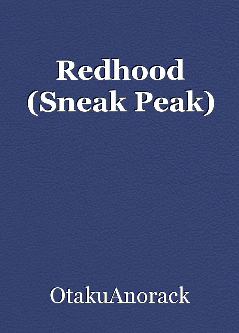 Redhood (Sneak Peak)