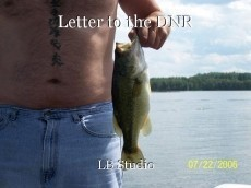 Letter to the DNR