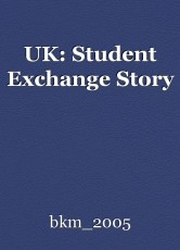 UK: Student Exchange Story