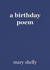 a birthday poem