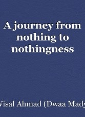 A journey from nothing to nothingness
