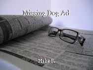 Missing Dog Ad