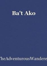Ba't Ako