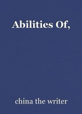 Abilities Of,