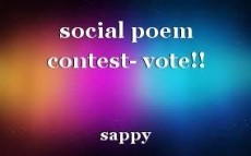 social poem contest- vote!!