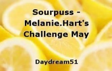 Sourpuss - Melanie.Hart's Challenge May