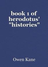 book 1 of herodotus'