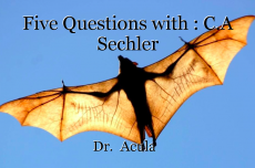 Five Questions with : C.A Sechler