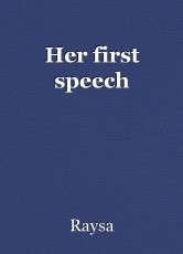 Her first speech