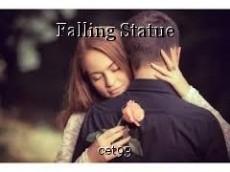 Falling Statue
