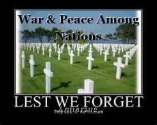 War & Peace Among Nations