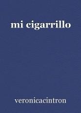 mi cigarrillo