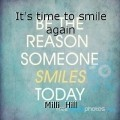 It's time to smile again