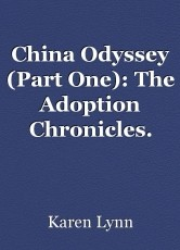 China Odyssey (Part One): The Adoption Chronicles.