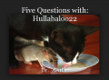 Five Questions with: Hullabaloo22