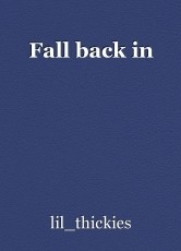 Fall back in