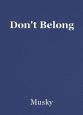 Don't Belong