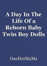 A Day In The Life Of a Reborn Baby Twin Boy Dolls Mother.