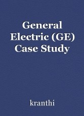 General Electric (GE) Case Study