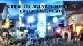 Sample The Analytical History Of Life On Planet Earth