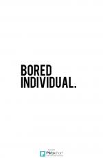 Bored Individual