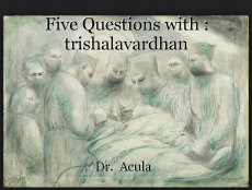 Five Questions with : trishalavardhan