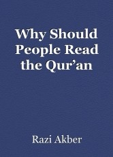 Why Should People Read the Qur'an