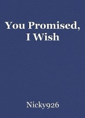 You Promised, I Wish