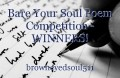 Bare Your Soul Poem Competition - WINNERS!