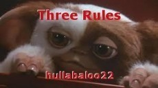 Three Rules