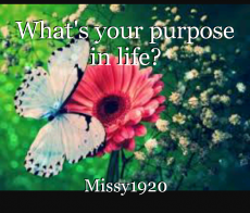 What's your purpose in life?