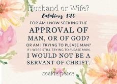 Husband or Wife?