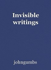 Invisible writings
