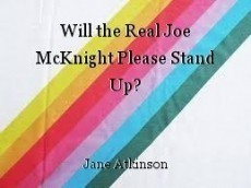 Will the Real Joe McKnight Please Stand Up?