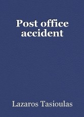 Post office accident