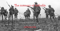 The memory of daffodils