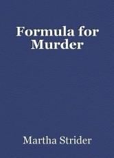 Formula for Murder