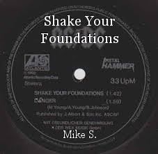 Shake Your Foundations