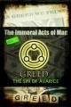 The Immoral Acts of Man - The Sin of Avarice