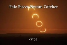 Pale Pisces Dream Catcher