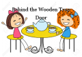 Behind the Wooden Trap Door