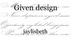 Given design
