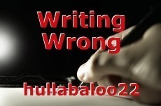 Writing Wrong