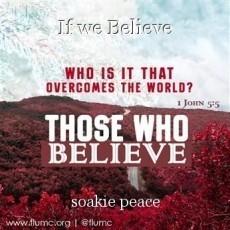 If we Believe