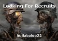 Looking For Recruits