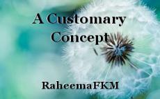 A Customary Concept
