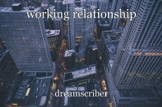 working relationship