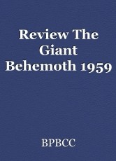 Review The Giant Behemoth 1959