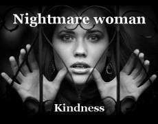 Nightmare woman