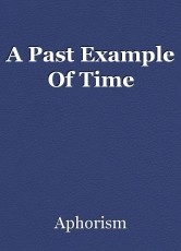 A Past Example Of Time